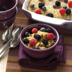 Amish Baked Oatmeal Substitute coconut milk for milk, honey for sugar, coconut oil for butter, sodium free Ener G baking powder