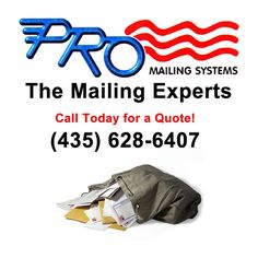 Pro Mailing Systems Direct Mail Services to Target specific audiences and let them know You are there...