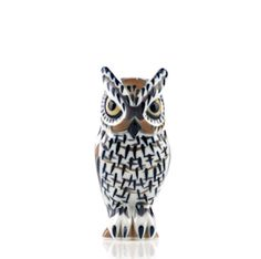 Sargadelos Pottery from Spain — Long-eared Owl