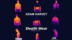 """Stealth Hoodie: Adam Harvey decided that average citizens needed an easy to way to protect their identity and privacy. So he created a line of """"Stealth Wear"""" clothing including a metalized hoodie that hides the wearer from thermal imaging cameras. The fabric completely blocks your smartphone's cellular and GPS signals so it can't be tracked. As well as a unique 'XX-Shirt' with a chest patch that protects the wearer's heart from x-ray radiation."""