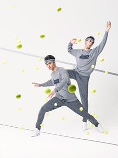 """Lacoste """"René did it first"""" Capsule Collection Lacoste, Sport Fashion, Kids Fashion, Sports Advertising, Athleisure Outfits, Body Poses, Action Poses, Lifestyle Clothing, Sporty Look"""