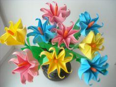 об'ємні квіти з паперу своїми руками: 26 тис. зображень знайдено в Яндекс.Зображеннях