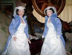 22 inch Tonner Scarlett & 22 inch Franklin Mint Scarlett Mill Gown | Flickr - Photo Sharing!