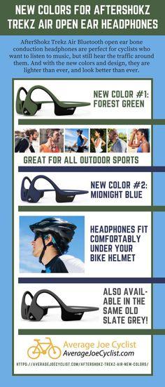 Aftershokz Introduces New Colors for Trekz Air Open Ear Headphones Good Quality Headphones, In Ear Headphones, Bike Craft, Cycling Art, Cycling Quotes, Cycling Jerseys, Commuter Bike, Cool Bike Accessories, Bike Wheel