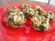 Spinach and sweet potato bites- baby led weaning BLW
