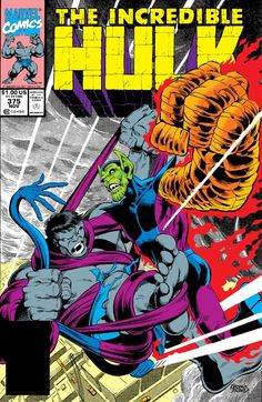 Incredible Hulk (1962-1999) #375  Marvel Comics Modern Age Comic book covers Super Heroes  Villians