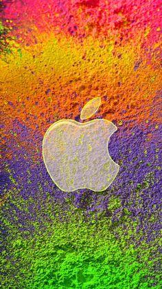 Colourful Wallpaper Iphone, Apple Logo Wallpaper Iphone, Iphone 7 Wallpapers, Hd Wallpapers For Mobile, Mobile Wallpaper, Wallpaper Backgrounds, Cool Wallpapers Designs, Apple Background, Iphone Logo