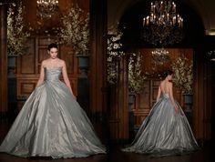 RK528 ~ Romona Keveza Couture Spring 2014