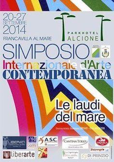 """A Francavilla il """"Simposio Internazionale d'Arte Contemporanea. Le laudi del mare"""""""