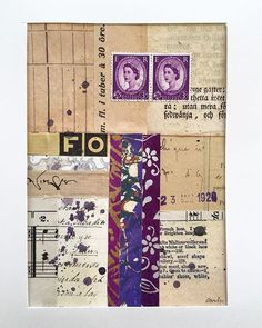 Crafts Sporting Ephemera&paper Piece Color Sampler Lots~vtg Collage Art,junk Journal,mixed Media Art Supplies