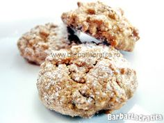 Pricomigdale (fursecuri cu nuca) Biscotti, Red Velvet, Muffin, Sweets, Homemade, Cookies, Baking, Breakfast, Desserts