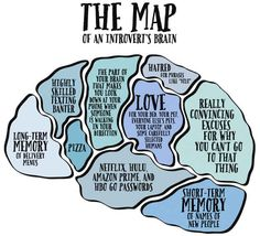 This Is What The Brain Of Every Introvert Looks Like. This is almost exactly what my brain spends it's time on.my Brain. The Words, Mbti, Introvert Problems, Introvert Quotes, Introvert Quiz, Introvert Funny, Infj Infp, Quotes Thoughts, Infj Personality