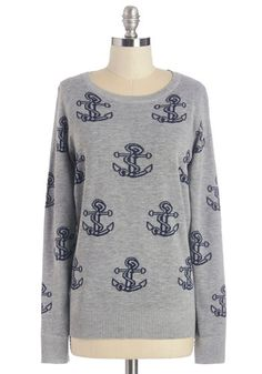 Dancing on the Dock Sweater, @ModCloth