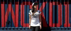 T-shirt Winner Blanc