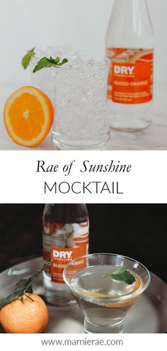 Made with just three ingredients, this orange and vanilla flavored mocktail is a perfect for spring or summer. Serve this easy nonalcoholic drink in a martini glass and garnish with orange zest. Best Mocktail Recipe, Easy Mocktail Recipes, Summer Drink Recipes, Spring Recipes, Summer Drinks, Cocktail Recipes, Brunch Drinks, Party Food And Drinks, Non Alcoholic Cocktails