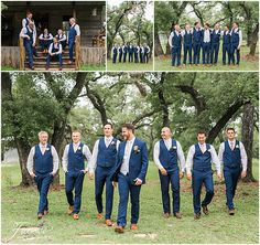 Summer wedding in Texas Country Wedding Groomsmen, Blue Country Weddings, Country Wedding Colors, Wedding Rustic, Rustic Weddings, Wedding Decor, Wedding Ideas, Groom And Groomsmen Outfits, Blue Groomsmen Suits