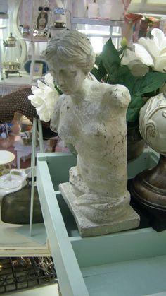 concrete plaster statue