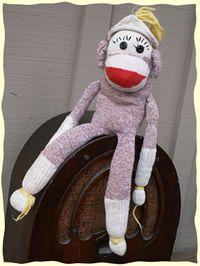 Vintage Sock Monkey Types Vintage