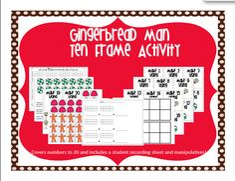 "Search Results for ""gingerbread man"" – Kristen's Kindergarten Math Place Value, Place Values, Ten Frame Activities, Math Division, Maths, Math Math, Math Games, Winter Activities For Kids, Teaching Techniques"