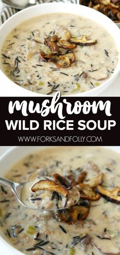 Mushroom and Wild Ri