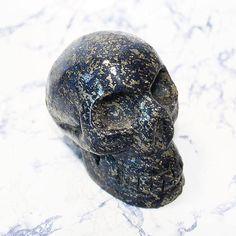 Lapis Lazuli Crystal Skull Carved Crystal Lapis Lazuli Skull