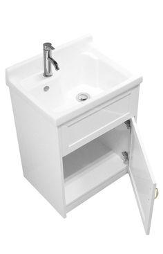 modern laundry room sinks | Amazon.com: ALEXANDER Utility Sink - Modern Mop Slop Sink ...