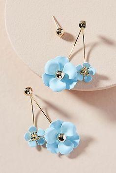 Zenzii Adelaide Front-Back Earrings Back Jewelry, Cute Jewelry, Bridal Jewelry, Gemstone Jewelry, Jewelry Accessories, Diamond Jewelry, Tiny Stud Earrings, Simple Earrings, Cute Earrings