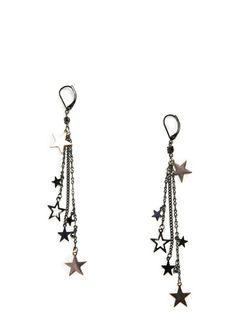Mango Chain Star Earrings