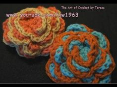 Crochet Spring Rose Written Instructions  http://crochet-mania.blogspot.com/2011/03/crochet-spring-rose.html    Teaching the world to crochet, one stitch at a time.  Free crochet lessons and video tutorials for beginner crocheters.      More from Crochet Geek on YouTube:  http://www.youtube.com/user/tjw1963    http://www.youtube.com/user/crochet    Blogge...