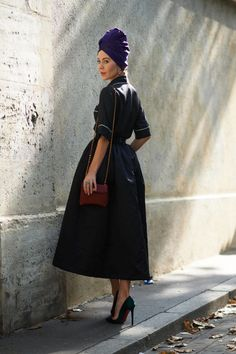Street Chic: Paris Fashion Week  - ELLE.com