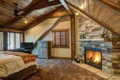 The Ultimate in Log Home Living is in a Whisper Creek Log Home.
