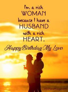 Happy Birthday Husband Romantic, Romantic Birthday Messages, Birthday Message For Husband, Happy Birthday Quotes For Friends, Birthday Wishes Messages, Happy Birthday My Love, Birthday Wishes For Myself, Bday Wishes For Husband, Birthday Greetings