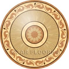 Elegant Larger Image For R45 In Wood Medallions   Part Of Czar Floors Collection Of  Unique Decorative