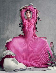 Vogue Italia March 2016 - Anna Cleveland - Sølve Sundsbø