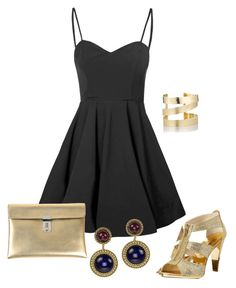 """""""Untitled #1930"""" by janicemckay ❤ liked on Polyvore featuring Glamorous, MICHAEL Michael Kors, Chanel, Golden Goose and Étoile Isabel Marant"""