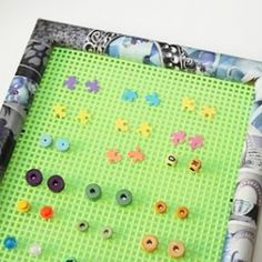 Tutorial on Upcycled Earring Frame