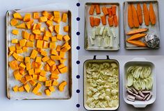 meal ideas for weight loss - roast veggies