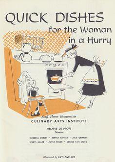 cookbook 1950s