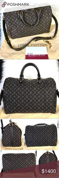 Louis Vuitton Speedy 30 Bandouliere Mini Lin Bag Stunning Louis Vuitton  Idylle Mini Lin Canvas Bandouliere 666e295483552