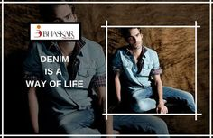 Denims we Love, Denims we Trust!  #Denim #fabric is nothing less than a boon for every human being out there and Bhaskar Denim Industries make sure, everyone gets that quality-tested, perfectly weaved and carefully chosen range of #denimdesign supplied by our world-class manufacturing unit.