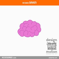 ACS069_Brain. Part of D&M Character Kit. After Effects Templates, Motion Graphics, Online Business, Brain, This Or That Questions, Content, Kit, Blog, Character