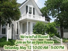 Get that last minute Mother's day gift at the little exchange's open house in Oakwood this weekend!