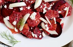 Nordic Diet Recipes: Blood Orange, Beet, Fennel Salad