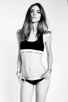 Chiara Ferragni in her Calvins. The blogger shows hers. #mycalvins