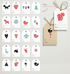 Scandinavian style Christmas bundle by Marish on @creativemarket
