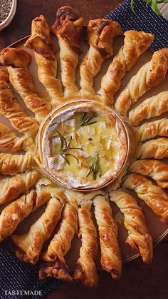 Baked Camembert is a super popular sharing dish, add in our awesome pancetta pastry dippers and you've got a winner! Baked Camembert is a super popular sharing dish, add in our awesome pancetta pastry dippers and you've got a winner! Appetizer Recipes, Dinner Recipes, Cheese Appetizers, Brunch Recipes, Brie Appetizer, Appetizer Ideas, Holiday Recipes, Puff Pastry Appetizers, Cheese Dips