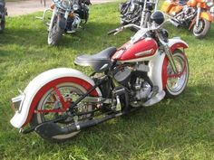 Uncle Dons Sweet 1949 45 CI Harley Davidson RIP Don