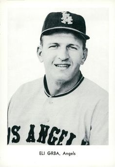 1961 Sports Service Los Angeles Angels #NNO Eli Grba Front