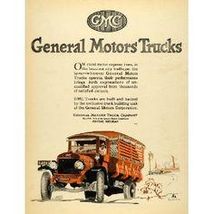 1920 Ad Orange Truck