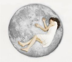 Full Moon Odyssey series floor-pillow II by i3Lab on Etsy